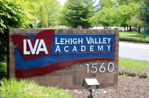 LVA Entrance Sign